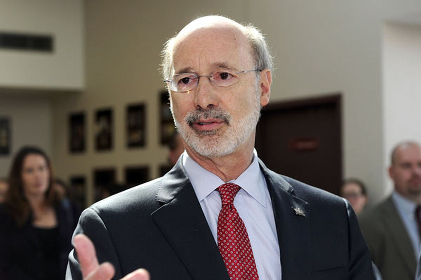 PhillyDeals: Wolf unhappy with who manages Pa.'s pensions
