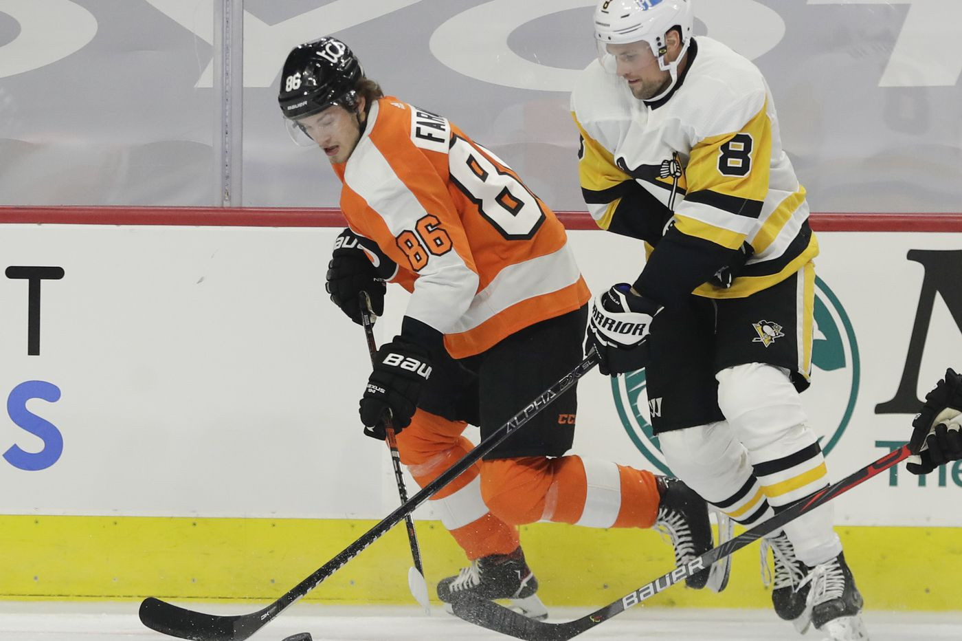 Flyers strive to improve even-strength play in effort to sweep Penguins