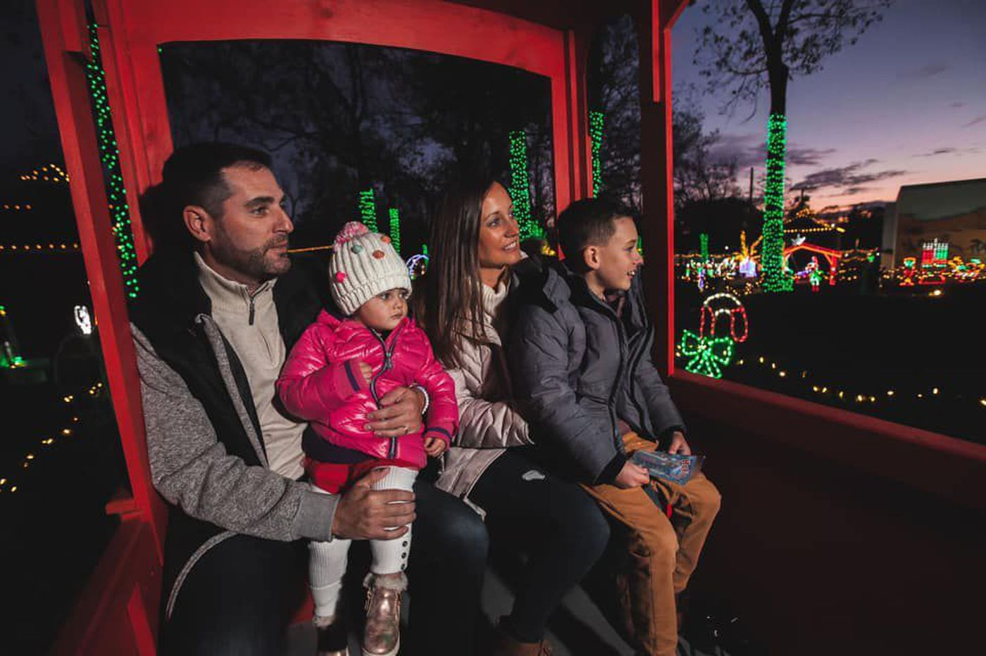 It's Christmas in South Jersey for early-bird Philly families. Plus more to do with kids this week.