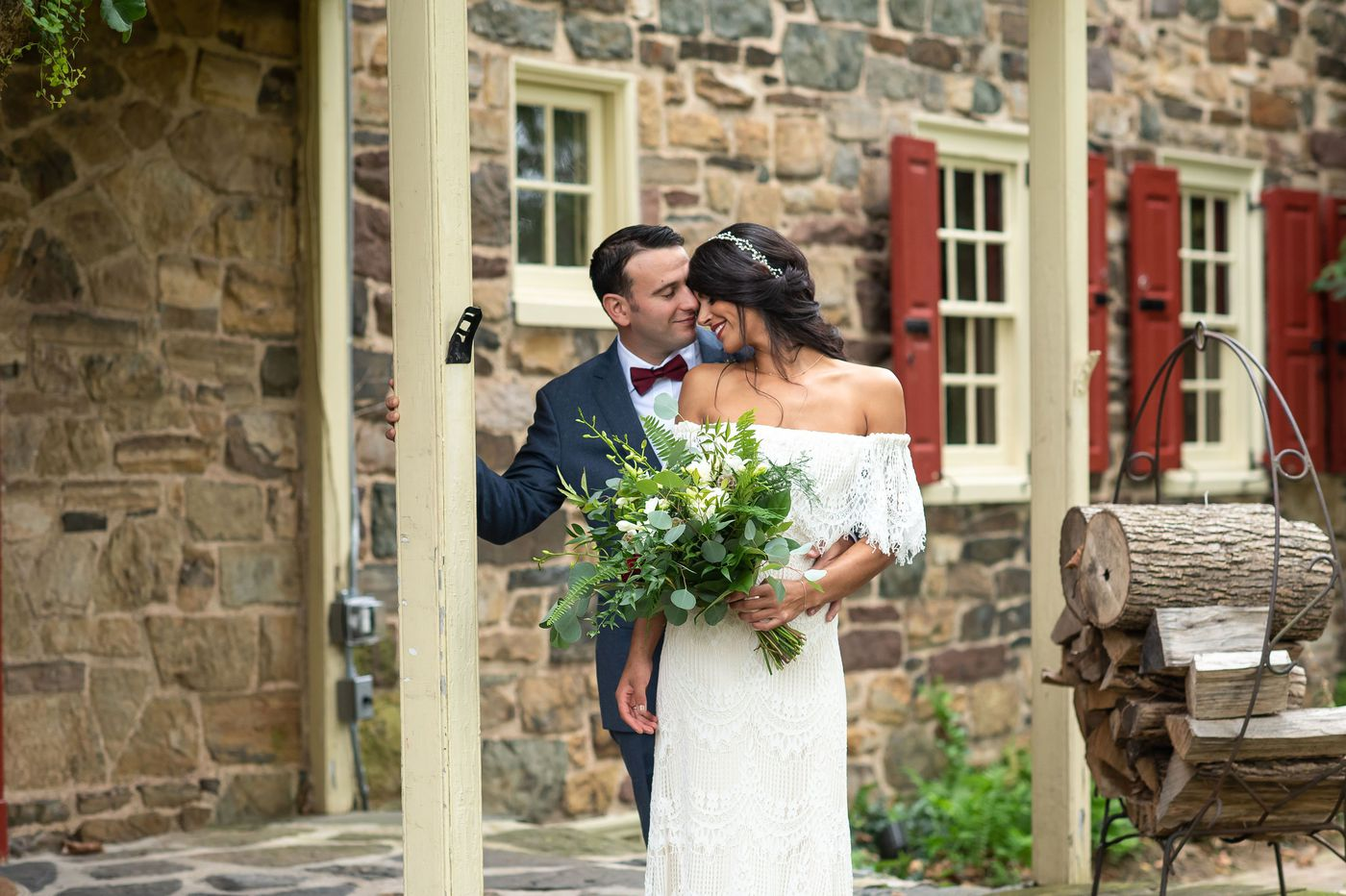 Philadelphia weddings: Kristina Kazanjian and Adam Belcastro