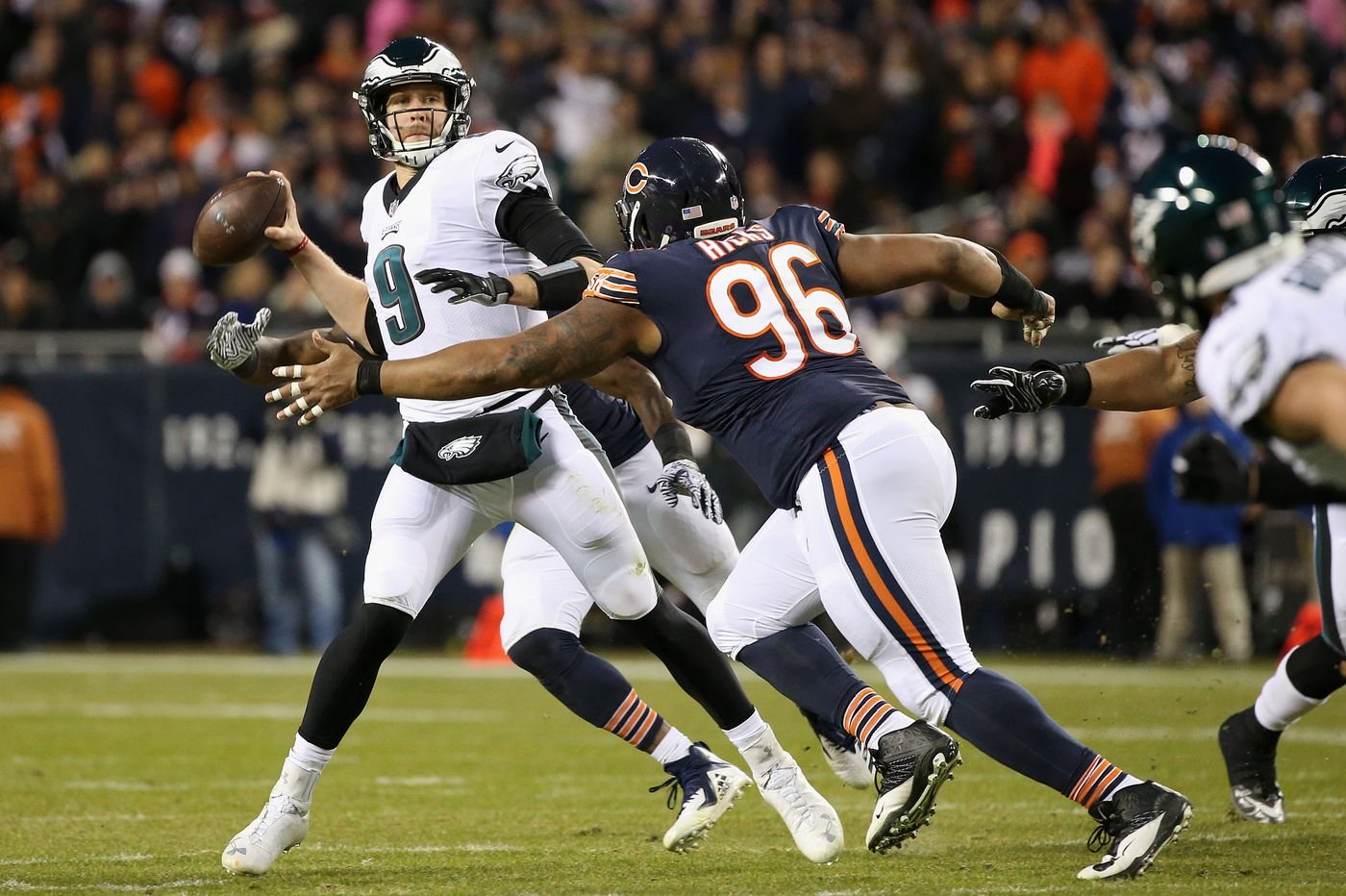 Eagles 16, Bears 15: Nick Foles leads game-winning drive, Cody Parkey misses late field goal and Birds advance in playoffs