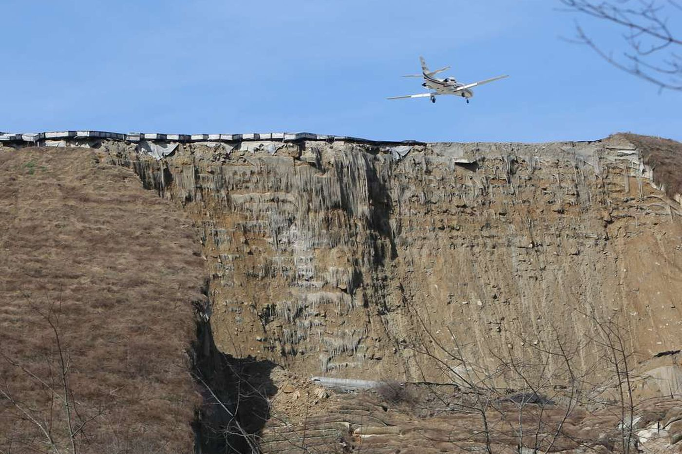 W. Va. landslide forces evacuations in capital