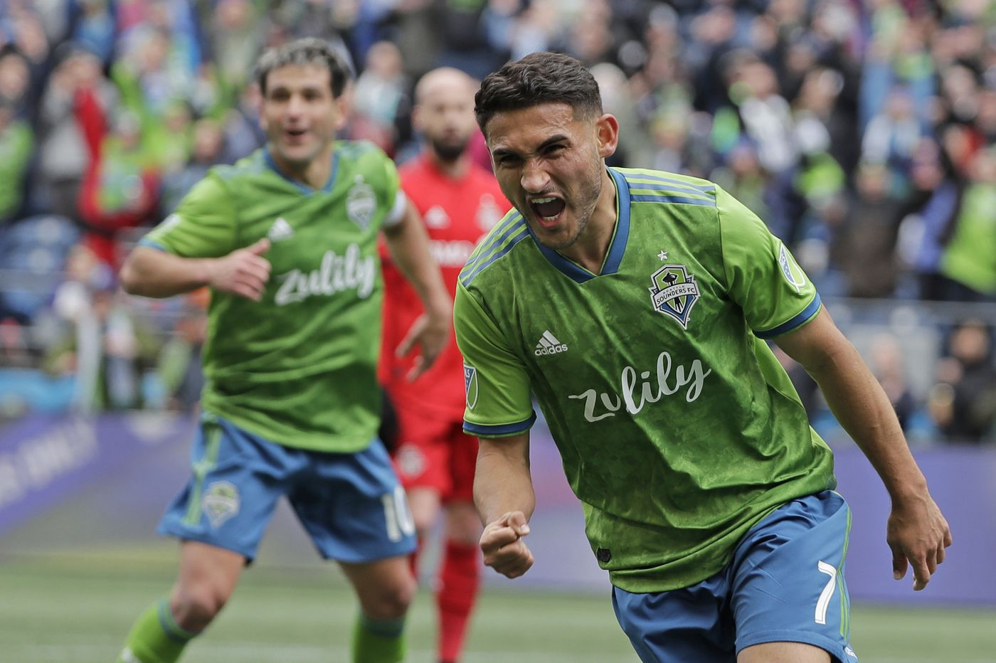 Seattle Sounders' Cristian Roldan will get to know Philadelphia well: first against the Union, then likely wit
