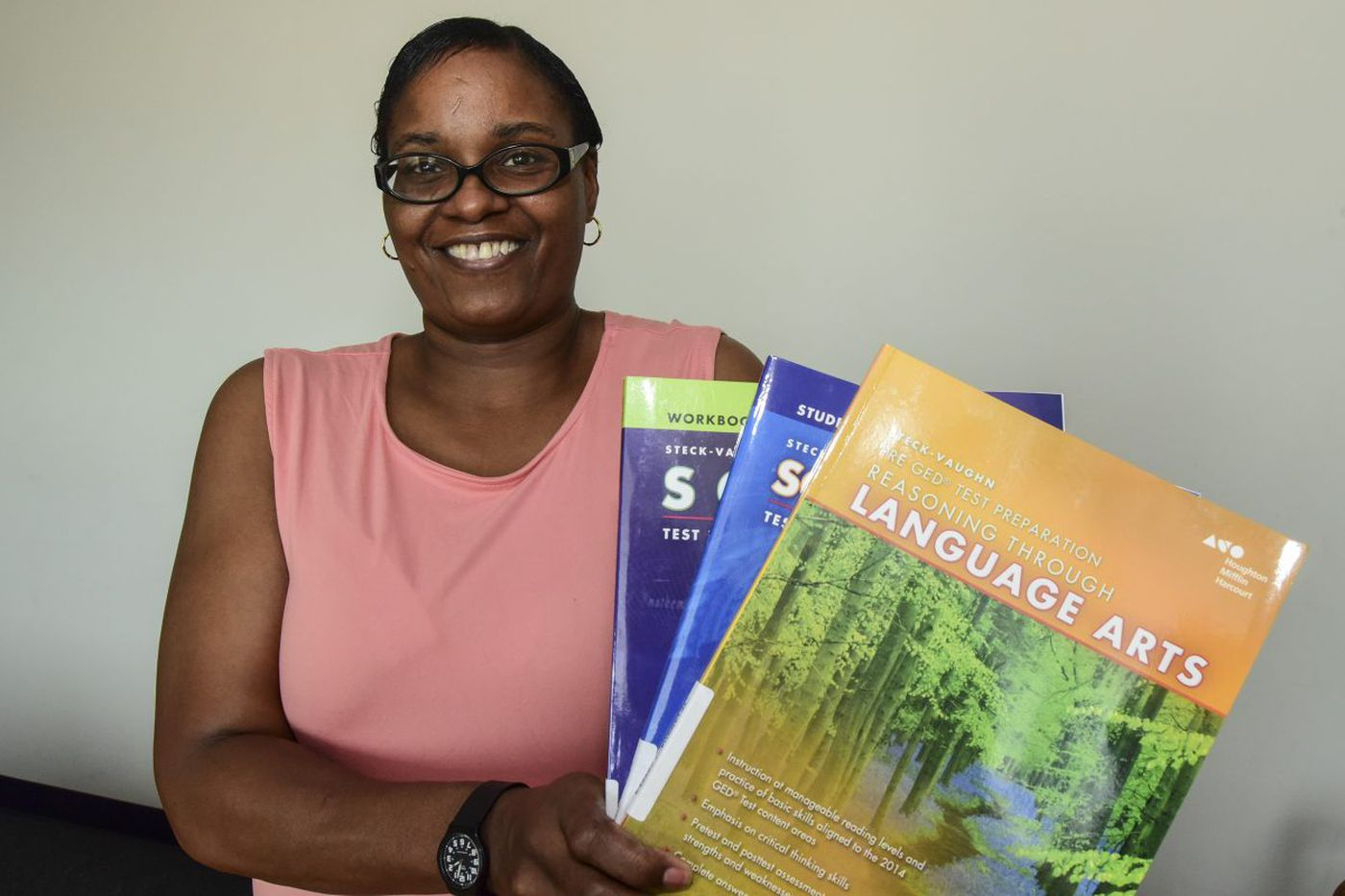 At 46, this Philly woman learned to read - and then published a book