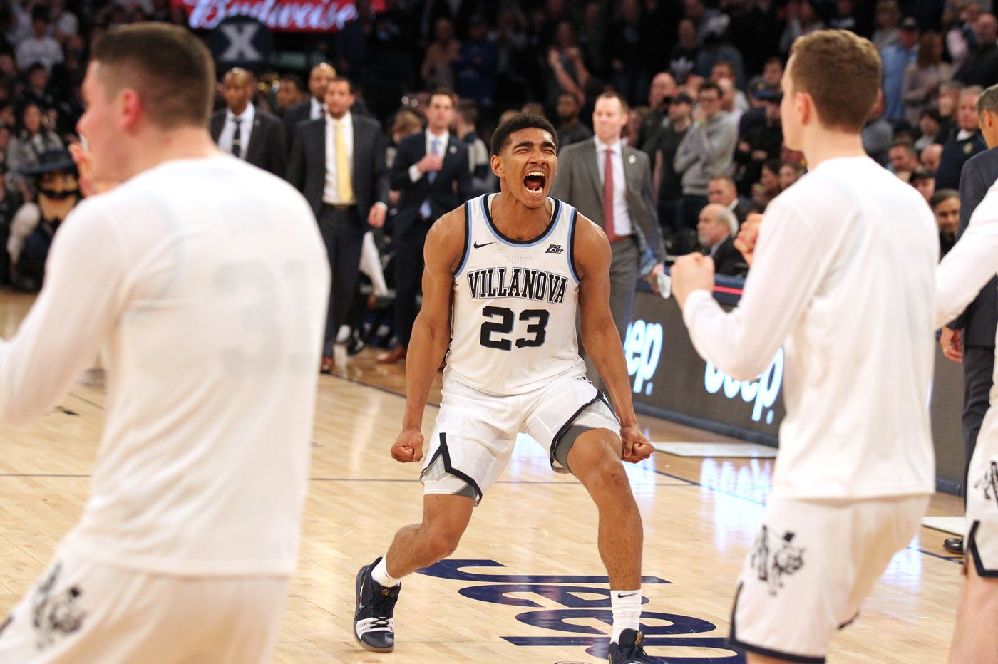 Villanova beats Xavier in overtime to earn a chance at a third straight Big East title