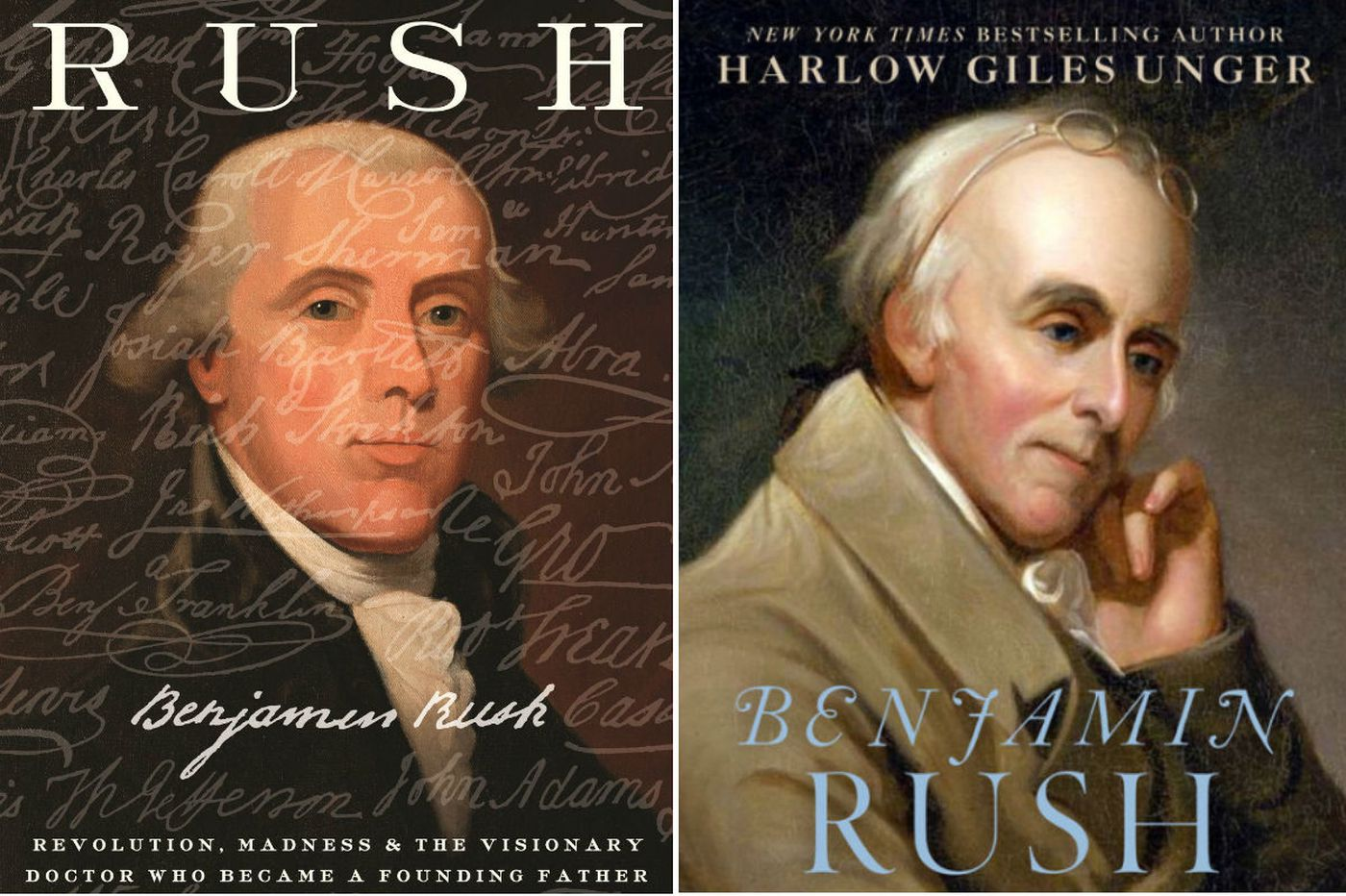 Two books make the case for the greatness of Philly's Benjamin Rush