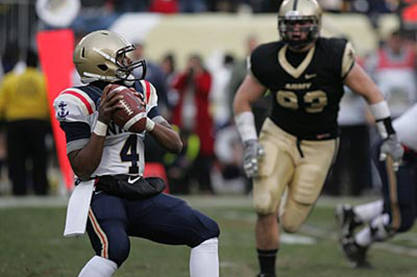 Navy wins ninth straight over Army, 31-17