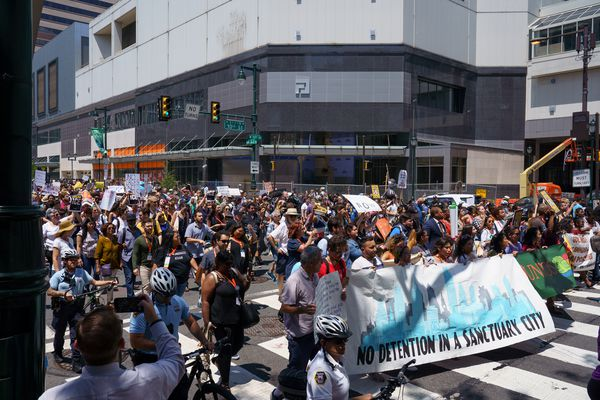 Thousands in Philly have marched against Trump immigration policies — but are they getting anywhere?