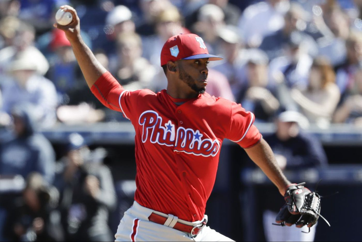 Gabe Kapler goes to Reading for Phillies prospect Seranthony Dominguez and a 'great steak'