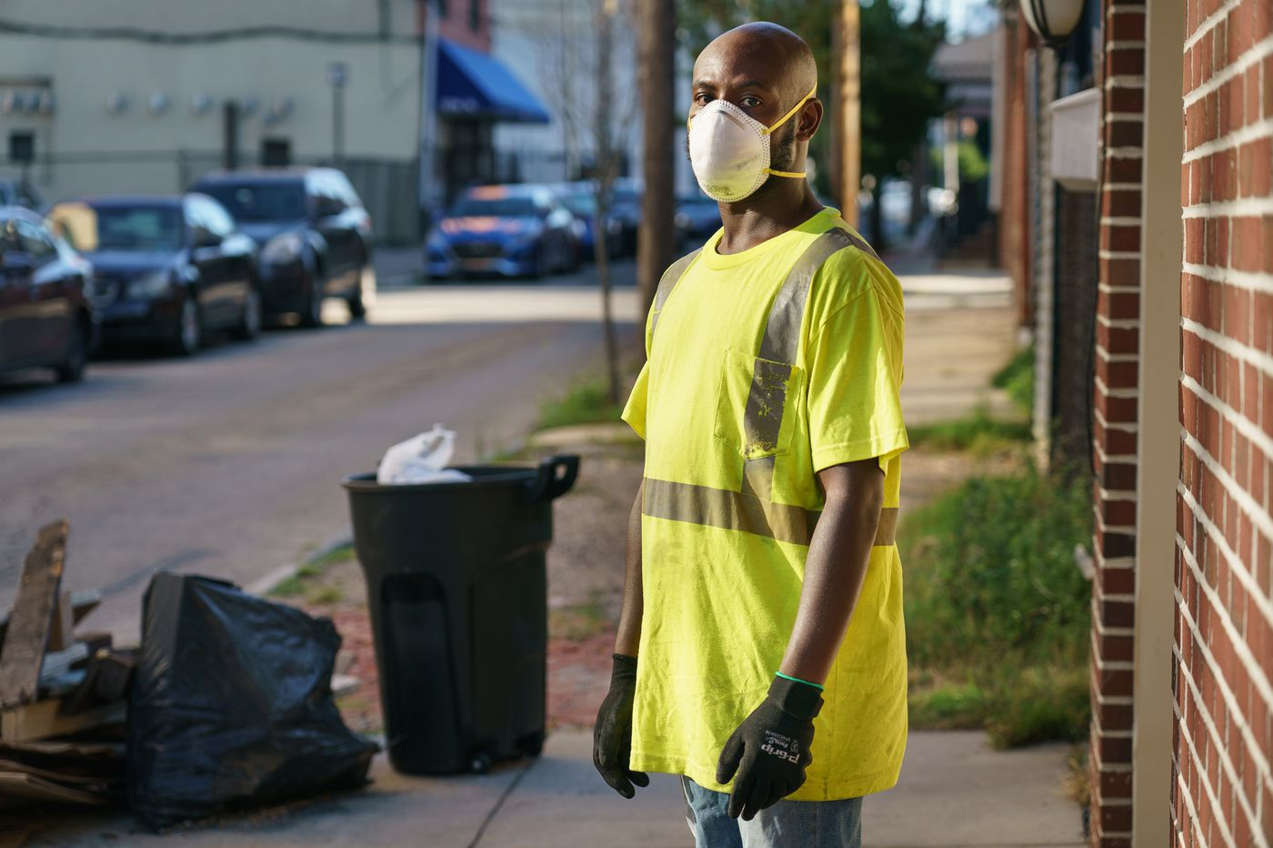'Ya Fav Trashman' raised $32,000 for PPE for his Philly sanitation colleagues, and his work is gaining national attention