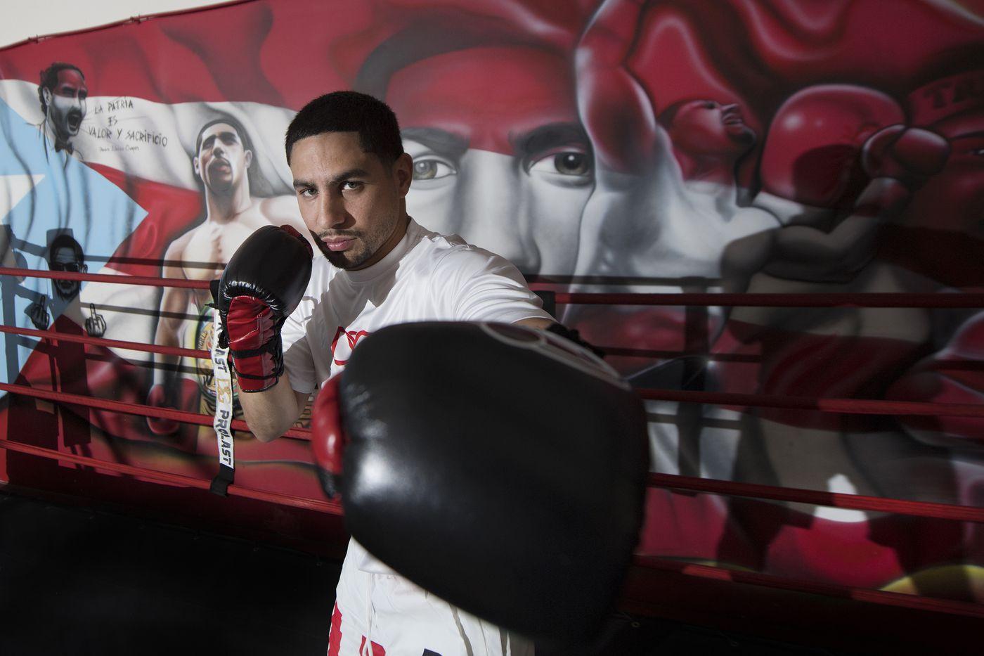 Philadelphia's Danny Garcia officially set for September bout against Shawn Porter in Brooklyn