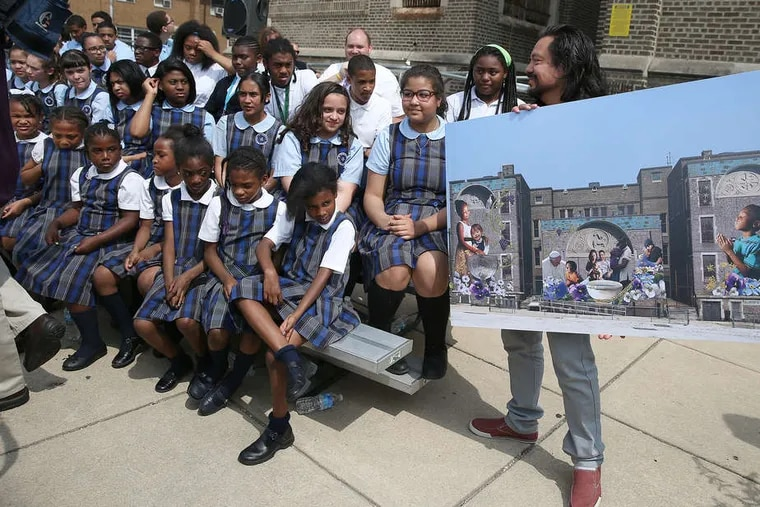 Students at St. Malachy, an Independence Mission Schools elementary school, are shown in this file photo. The network of Philadelphia Catholic schools has laid off 180 workers because of COVID-19 closures and related economic concerns.