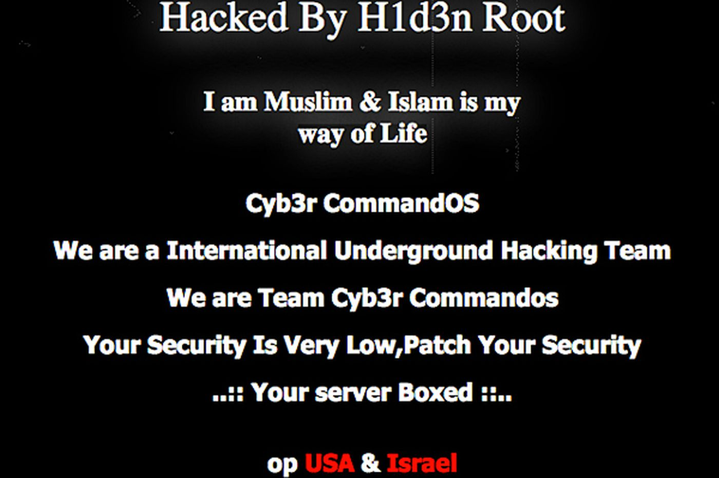 Phila. City Council's website hacked