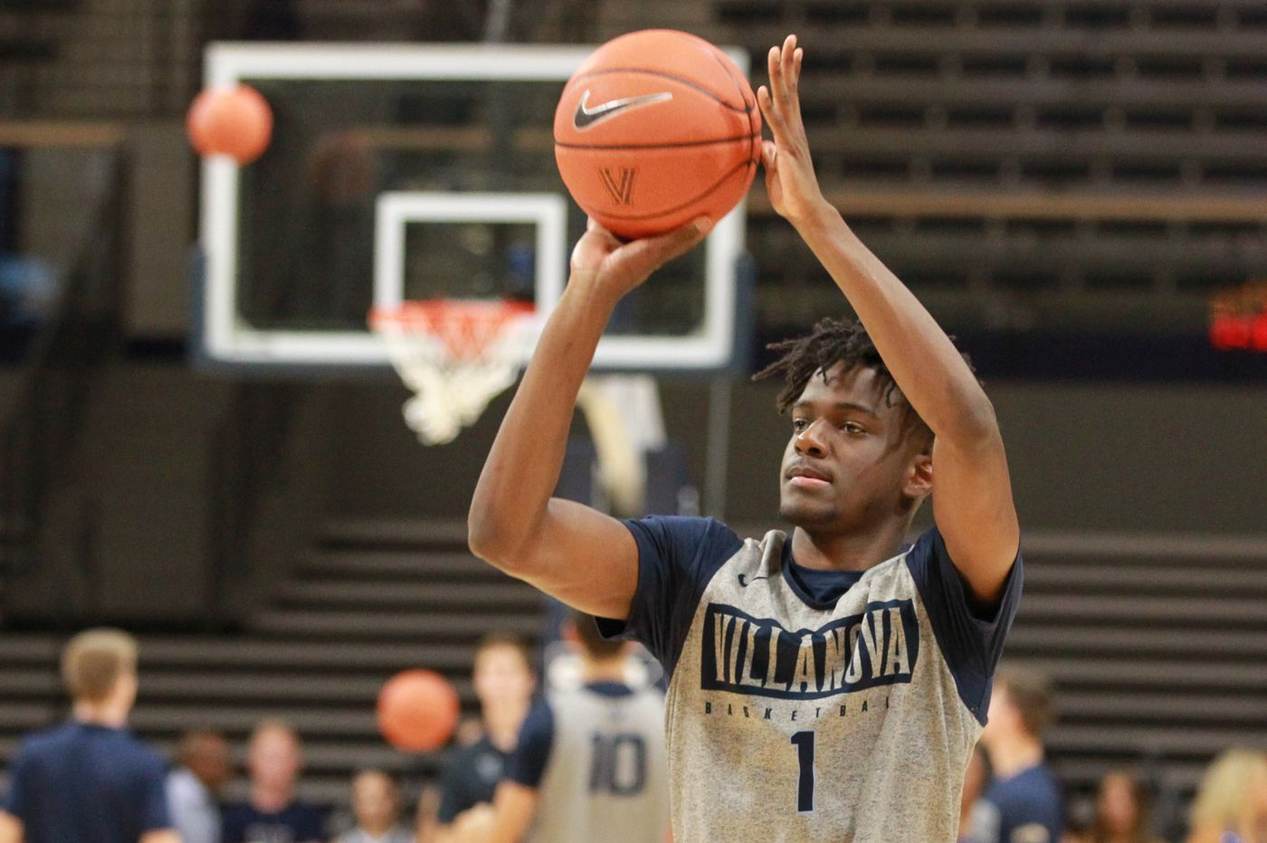 Bryan Antoine, highly regarded freshman guard, cleared to begin practice at Villanova