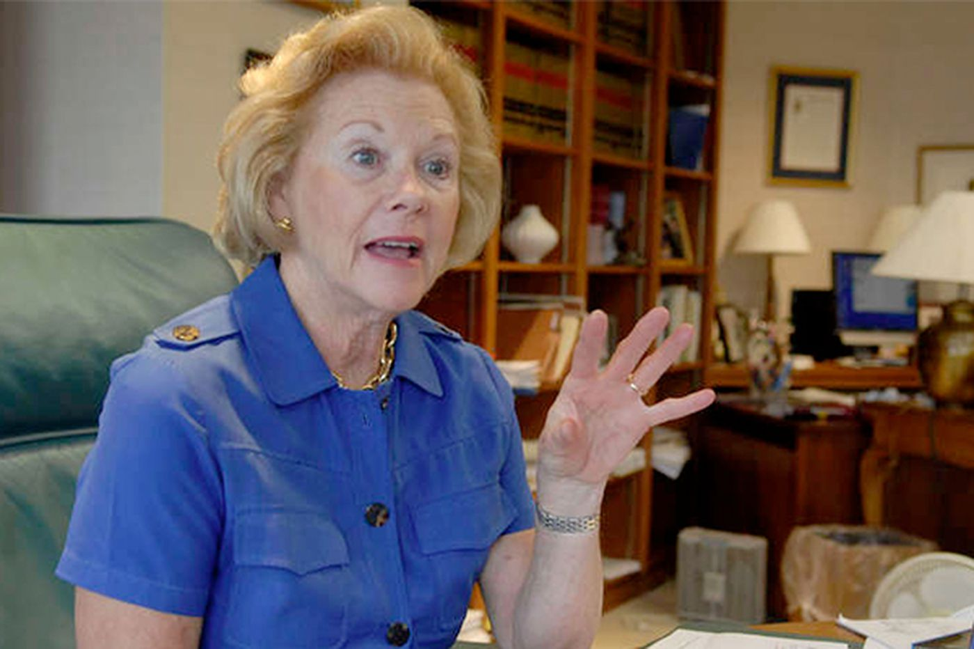 Midge Rendell talks about life as a judge