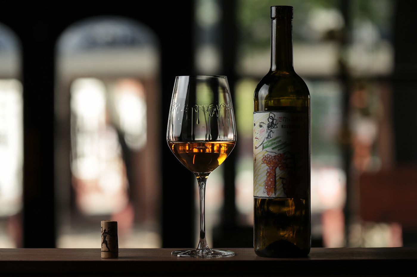 Drink: Finding the virtues of Georgian orange wine at Bloomsday Cafe