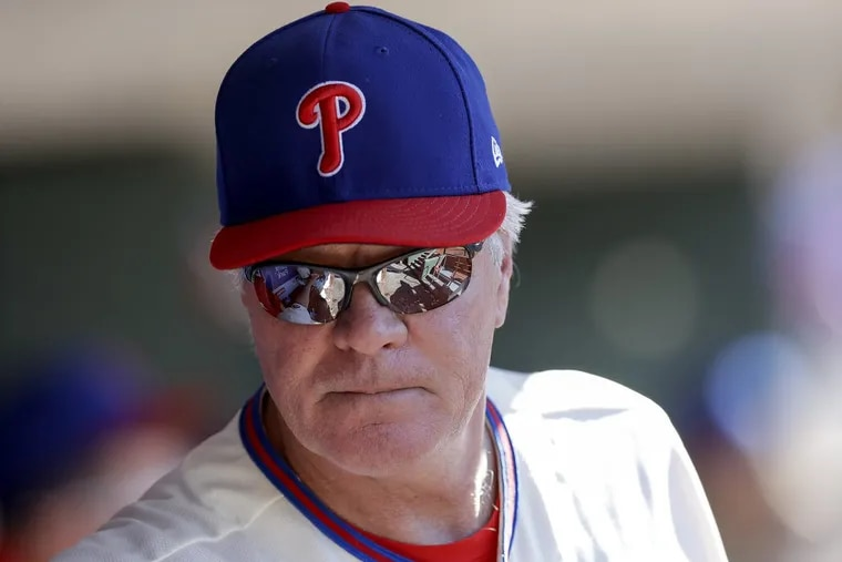 Phillies Manager Pete Mackanin believes the team has to show that they are on the verge of becoming a contender next season.