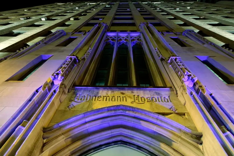 Hahnemann University Hospital.
