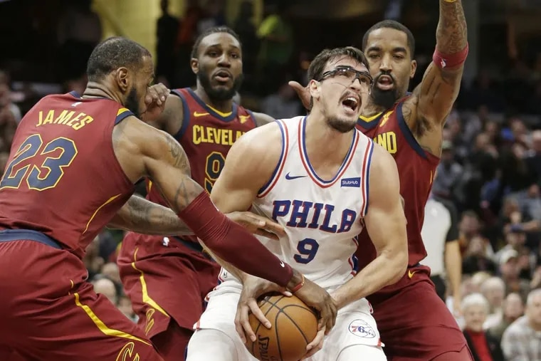 """"""" I know we are a young team,"""" the Sixers' Dario Saric says, """"but we have to be less nervous and find a way to finish."""""""