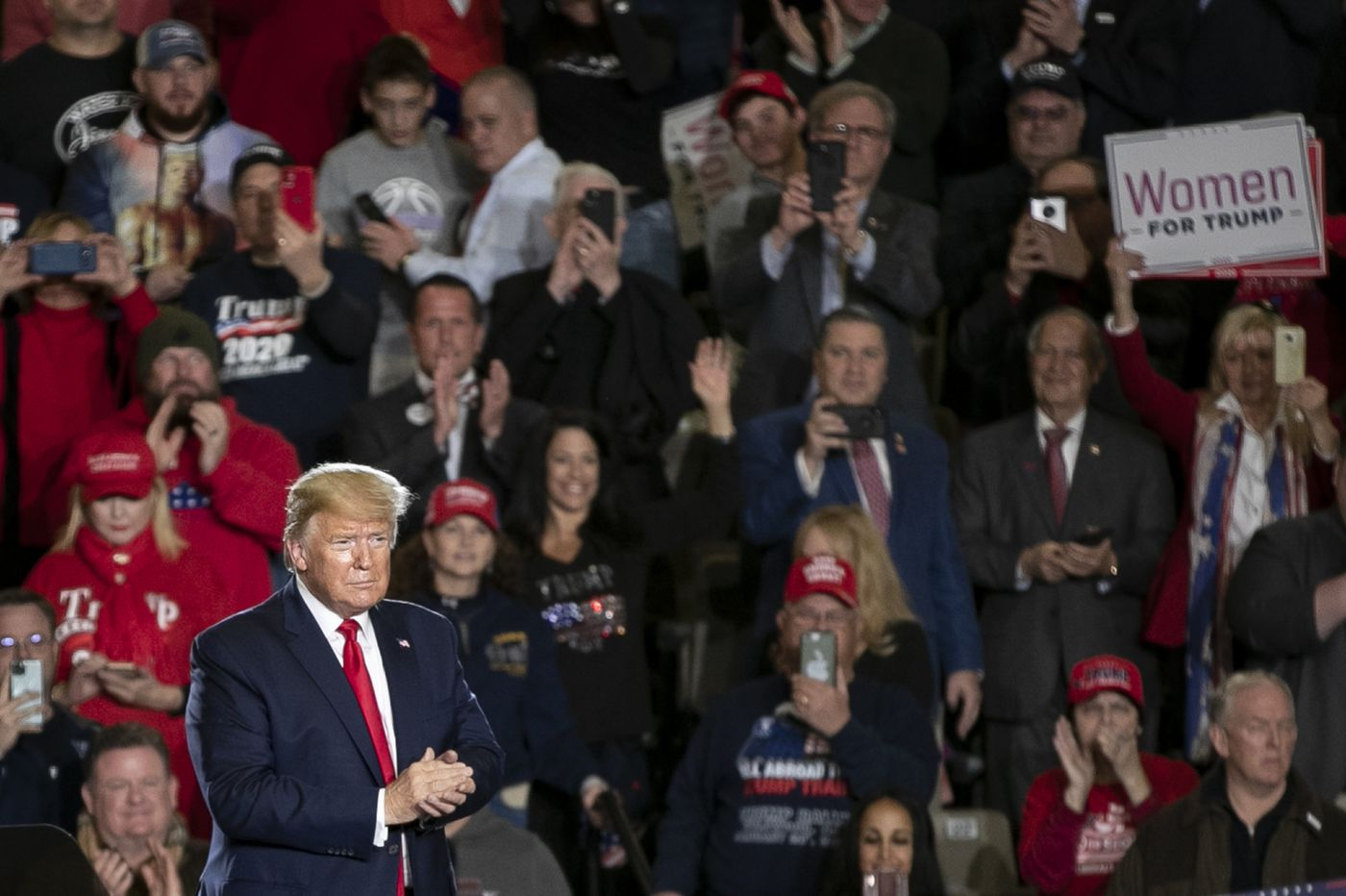 Trump makes case for reelection in Wildwood rally, blasting media and Democrats