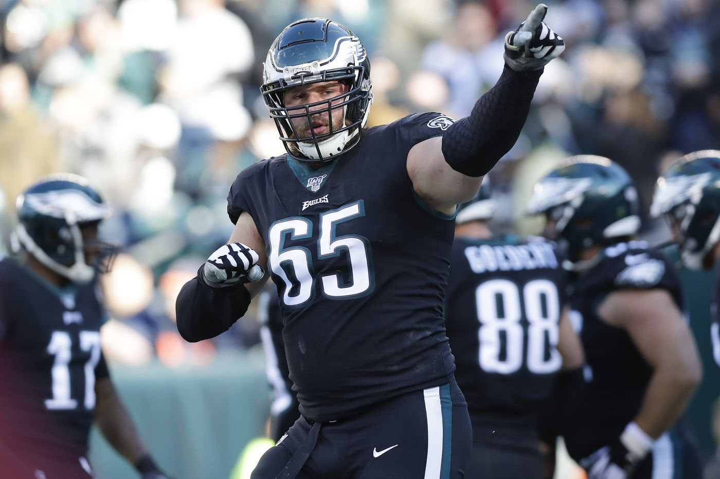Lane Johnson, Best players NFC East