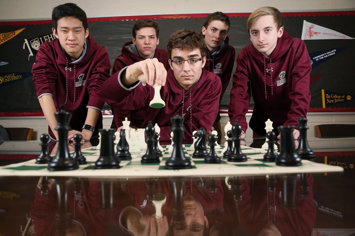 Abington Senior HS takes first place in national contest that requires endurance, smarts, and psyching out your opponent