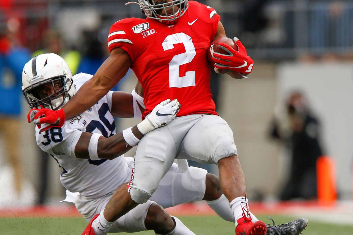 Behind defense and backup quarterback Will Levis, Penn State throws a scare into No. 2 Ohio State but loses, 28-17