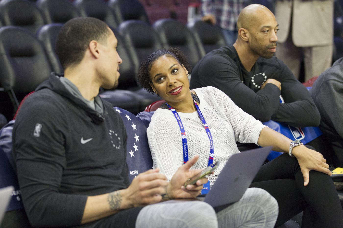 Sixers hire first female coach: Lindsey Harding
