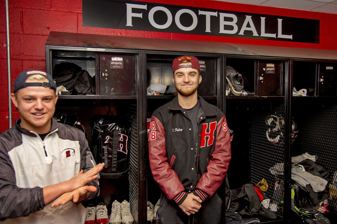Haddonfield's Foley twins will play one last football game together