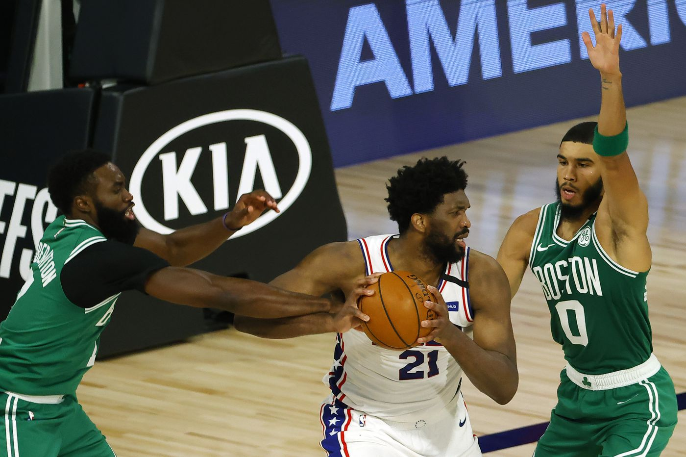 Observations from the Sixers' 128-101 loss to the Celtics: Where was the defense?