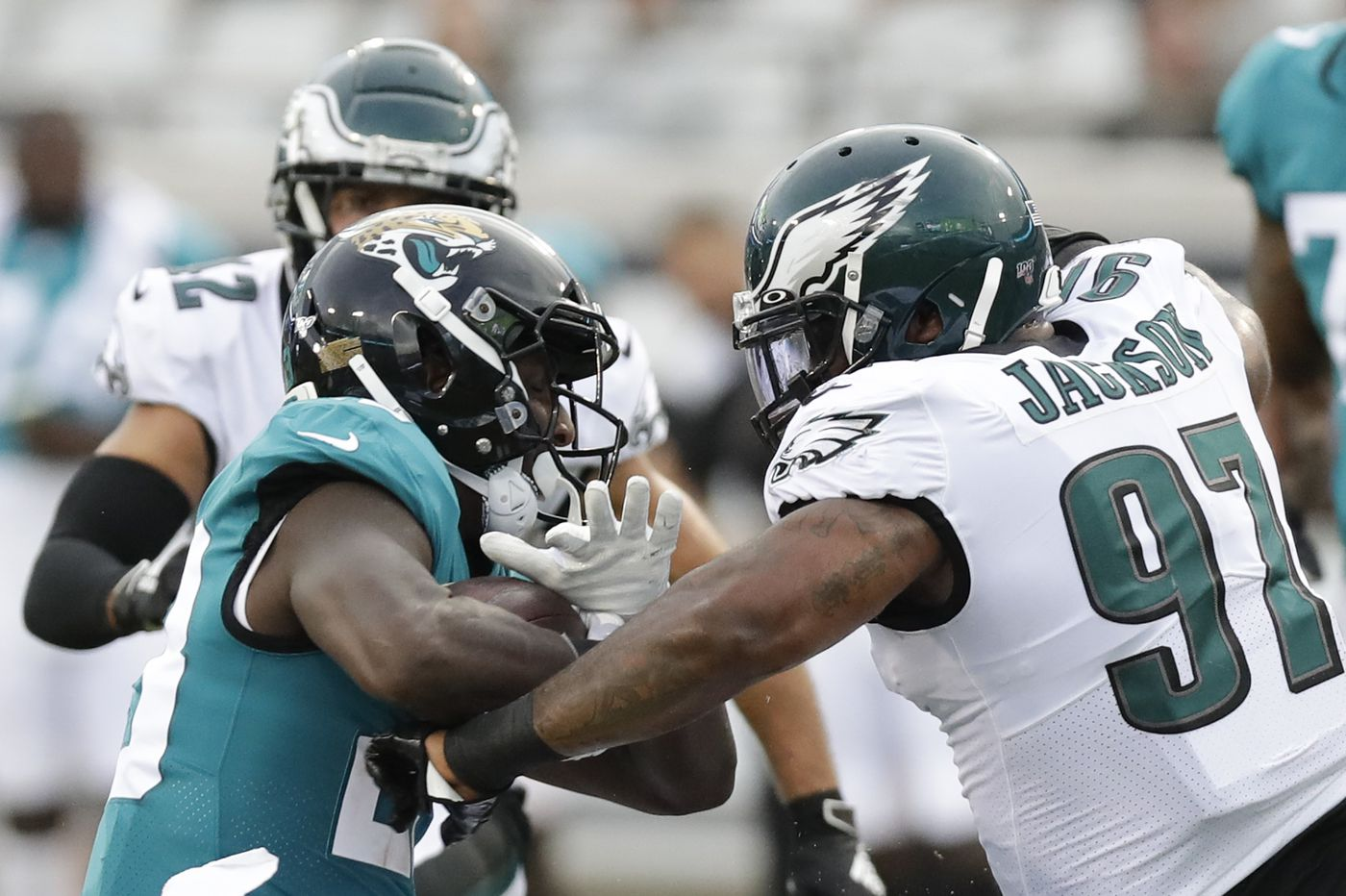 For starters, you didn't see many on offense for the Eagles