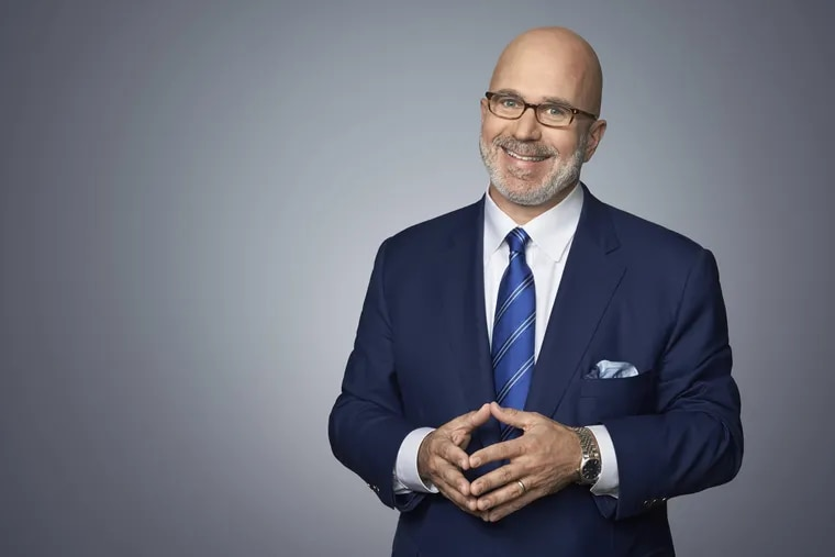 """Michael Smerconish, host of CNN's """"Smerconish."""" To mark his 30 years in talk radio, he has a July 11 CNN special, """"Things I Wish I Knew Before I Started Talking."""""""