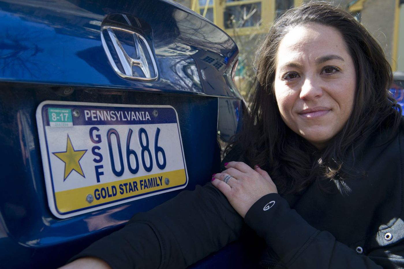A note left on someone's car led me to a sister's love for her fallen Marine brother   Helen Ubiñas