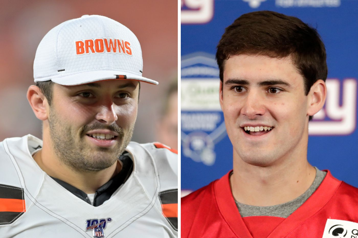 Baker Mayfield blasts media for claiming he trashed rookie Giants quarterback Daniel Jones
