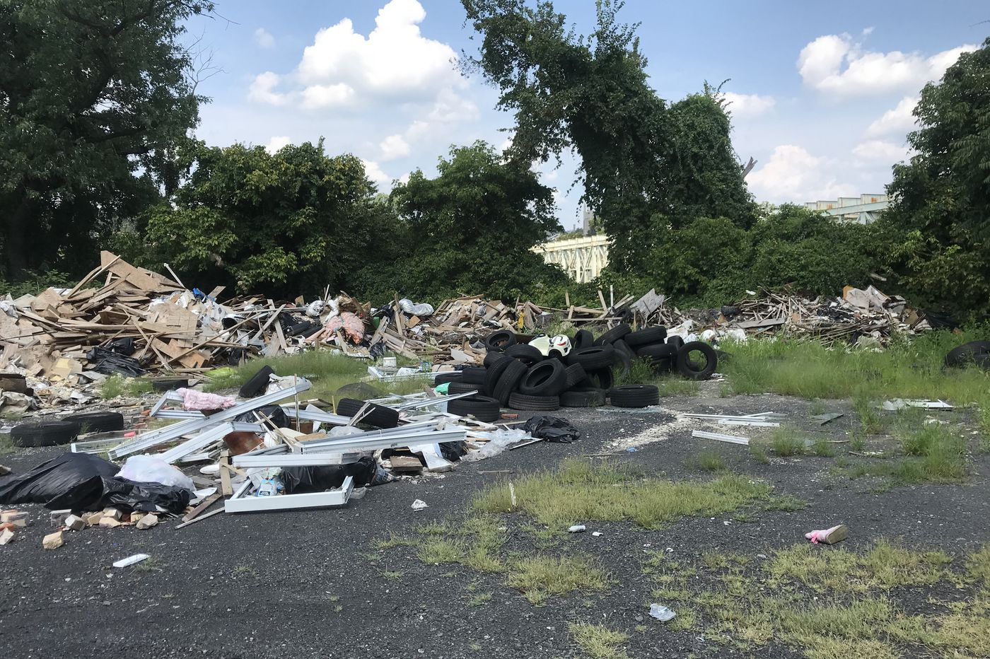 'Eye-popping' 245-ton illegal dump cleared near Philadelphia drinking water intakes