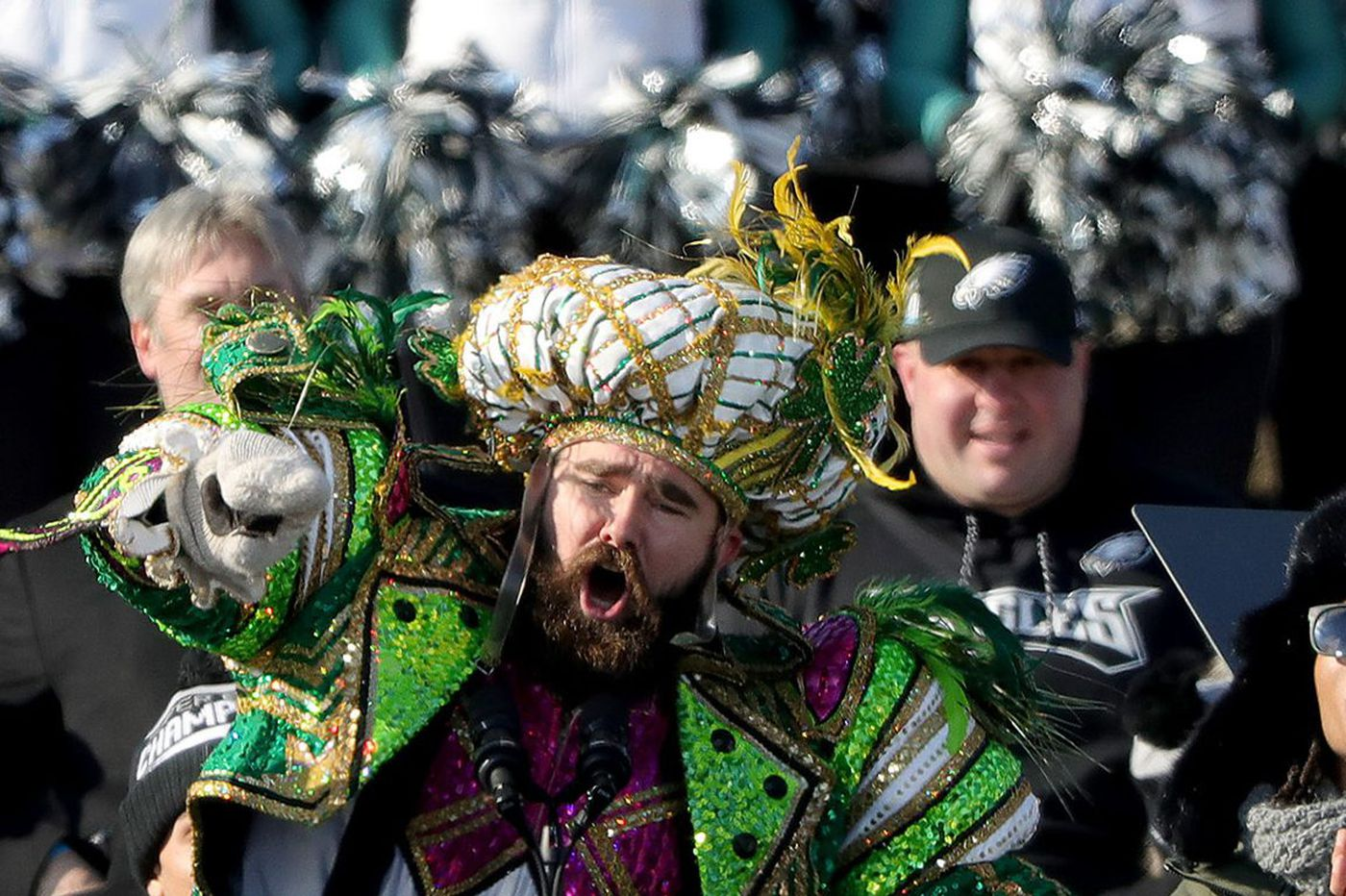 If Flyers ever won the Stanley Cup, who would 'Jason Kelce' their parade?