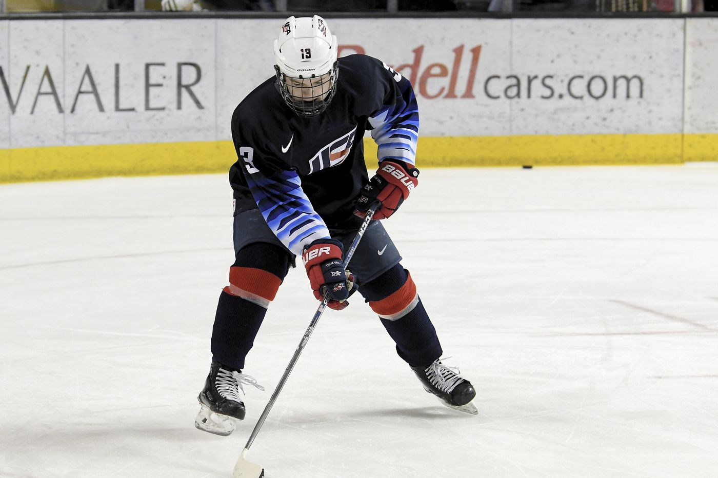 If Cole Caufield is available in NHL draft, his size will not dissuade Flyers