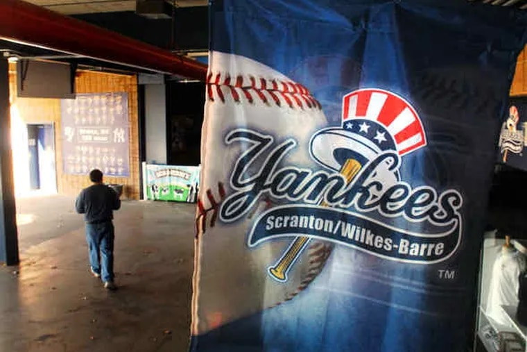 PNC Field in Scranton has hosted the Scranton/Wilkes-Barre Yankees since 2007. Many current Phillies played there for the Red Barons when it was Lackawanna County Stadium.
