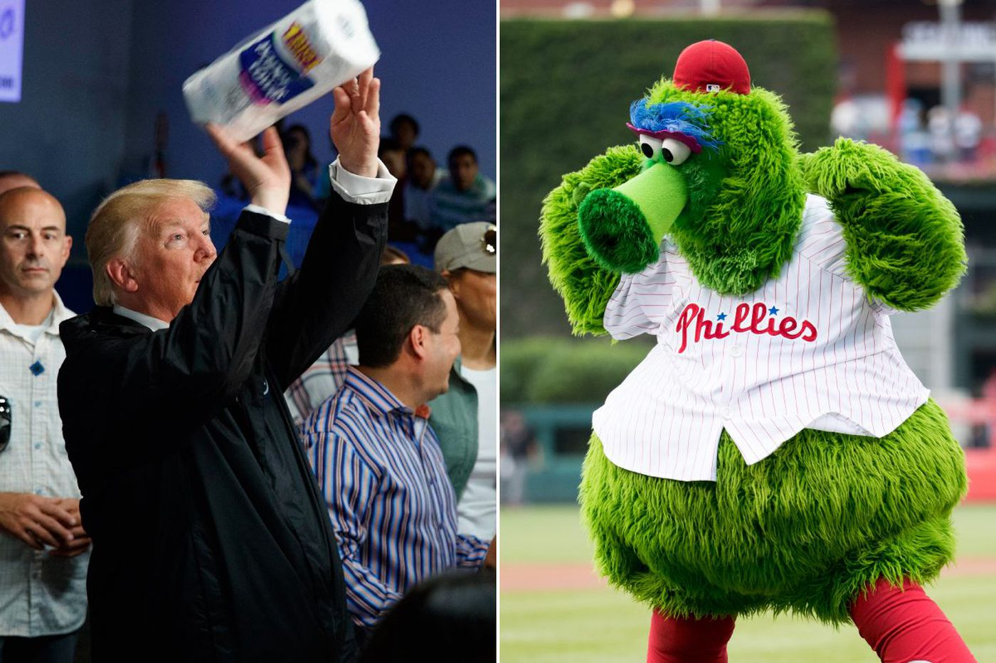'Saturday Night Live' wonders whether Trump could replace Phillie Phanatic