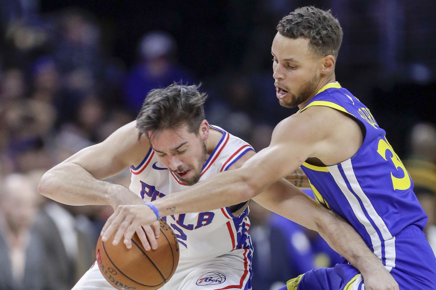 "Sixers-Warriors observations, ""best"" and ""worst"" awards: Steph Curry, TJ McConnell and third-quarter meltdown"