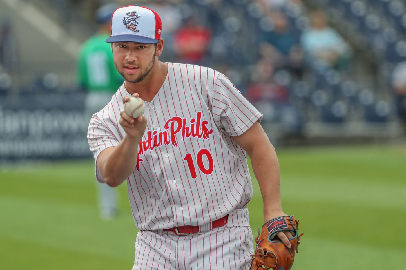 0893bc87611 Phillies prospect Luke Leftwich could make major-league history thanks to  dad s family discovery