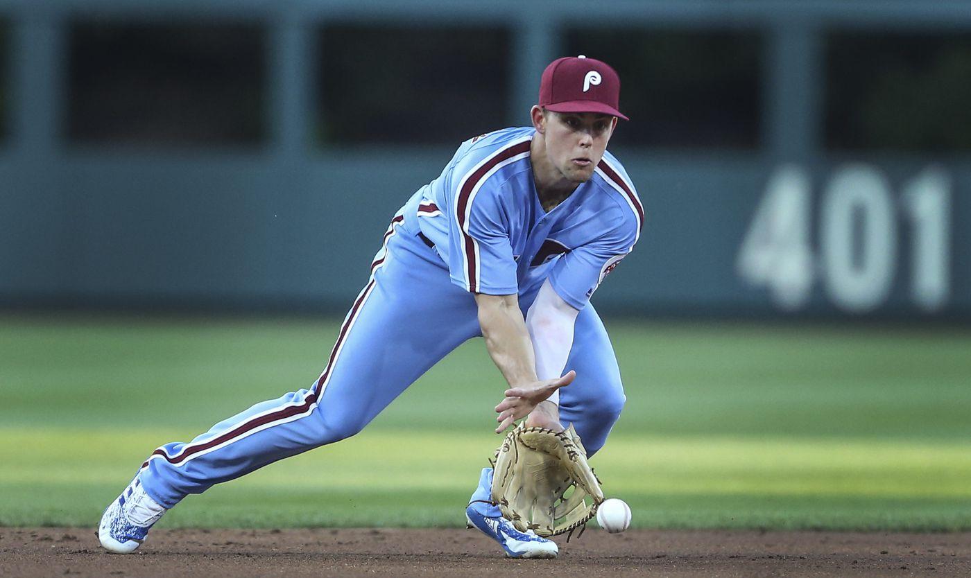 Phillies in no rush to determine Scott Kingery's best position   Scott Lauber