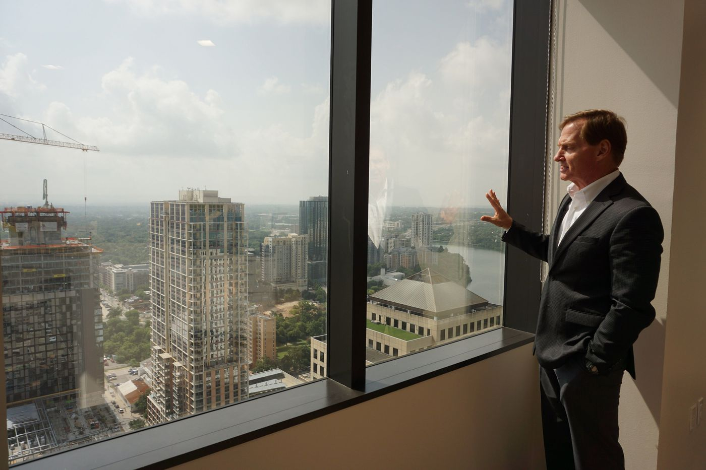 Philly's top office landlord Brandywine has Texas-sized