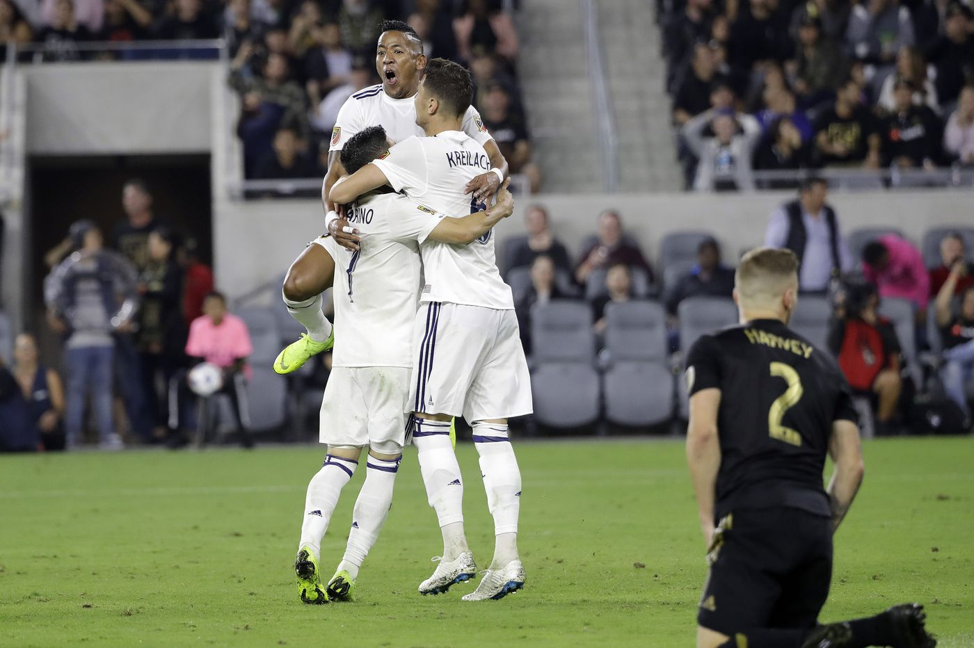 Real Salt Lake upsets LAFC in first round of MLS playoffs