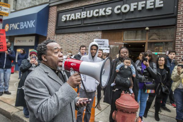 A year after Starbucks arrests, Philly still needs a better response to racist surveillance | Opinion