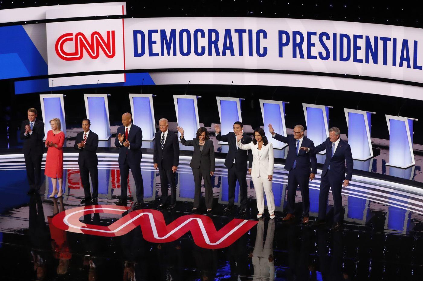 Biden's response to Trump, Warren scrutiny, and Tom Steyer's debut: What to watch for in tonight's Democratic debate
