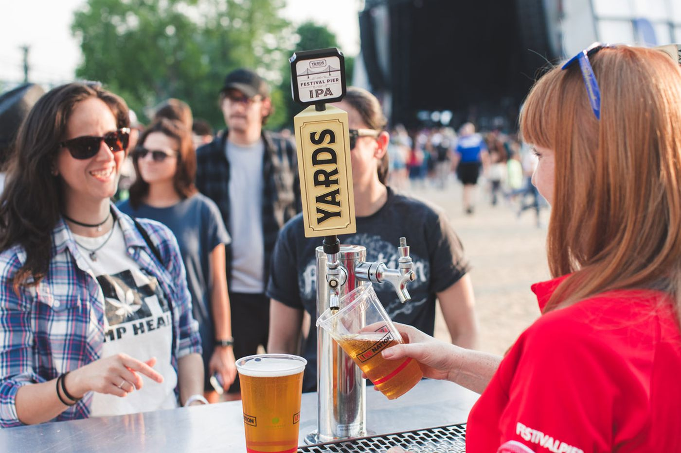 Yards makes a beer in honor of Festival Pier