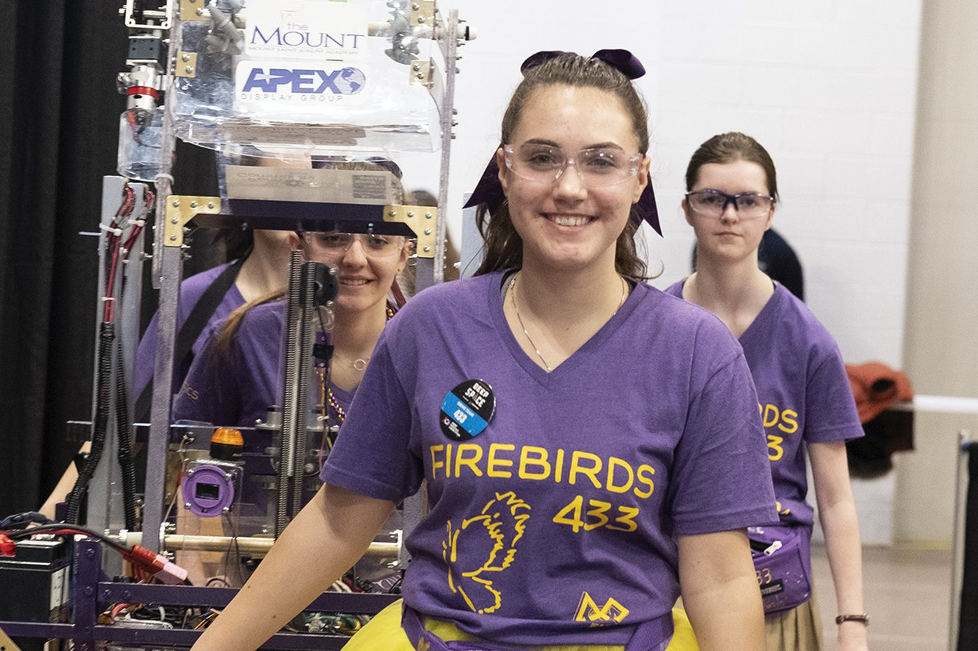Beyond Legos: 1,200 young robot-builders draw corporate cash and career inspiration
