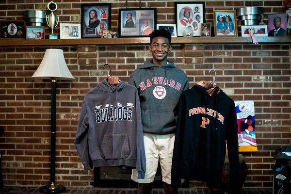 Moorestown Friends freshman sets sights on Harvard - and the White House