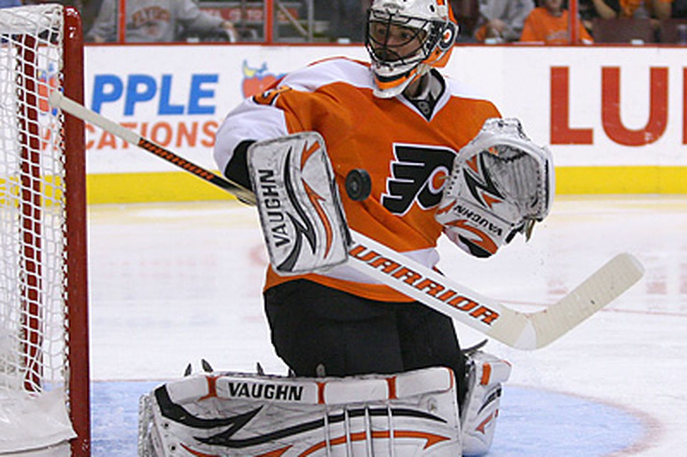 Boucher no longer sitting idle for Flyers